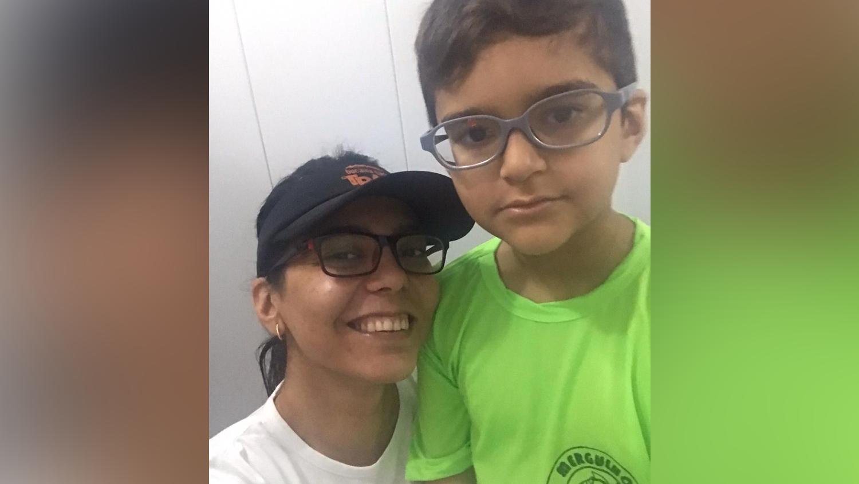 Mãe de autista: Eloá e Paulo Antonio