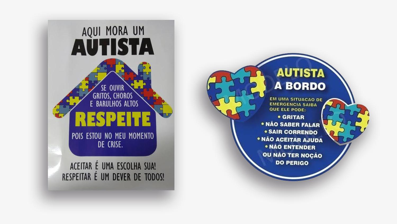 adesivos de identificação para carros e casas de autista ser mãe de autista