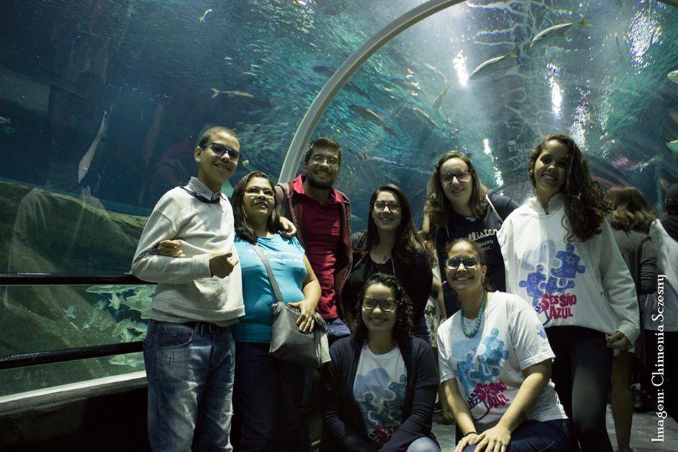 Sessão Azul no AquaRio