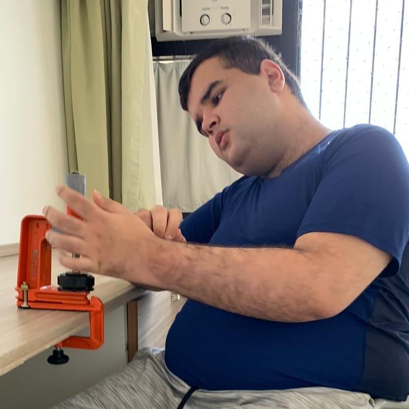 Gabriel Bussade: autista no mercado de trabalho