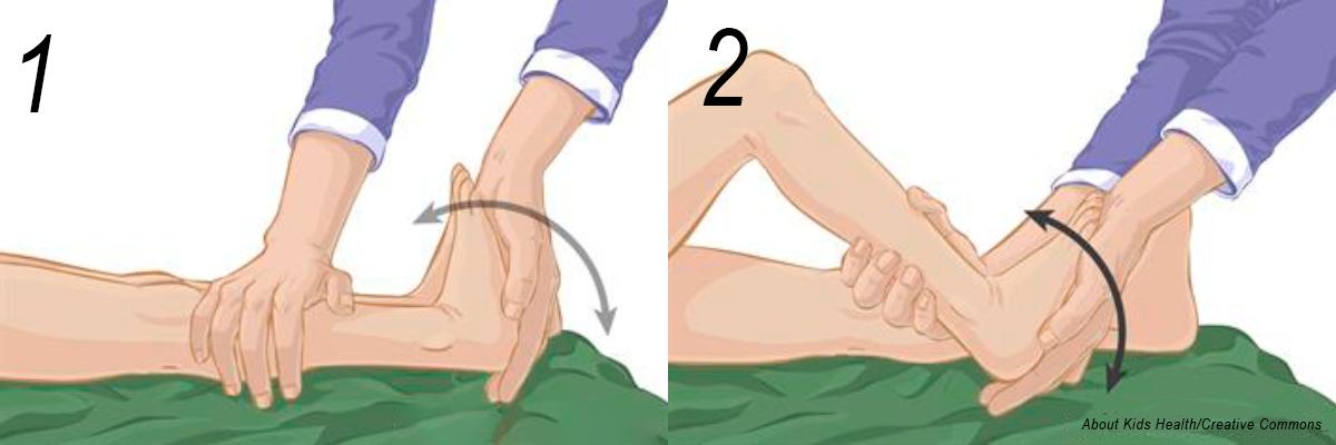 alongamento pé criança 1
