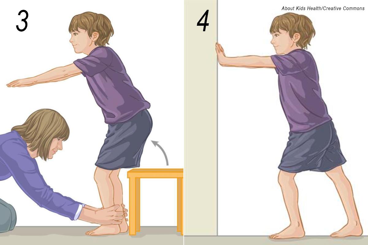 alongamento pé criança 2