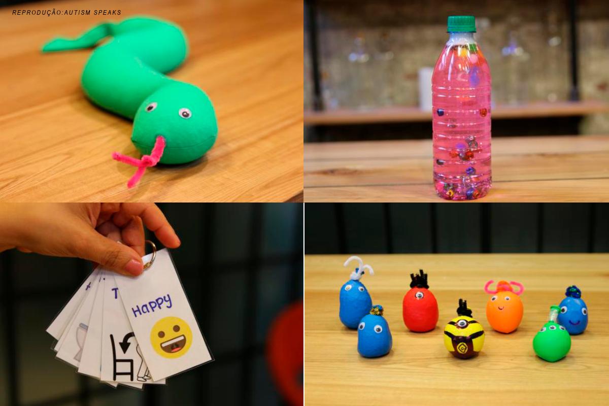 brinquedos sensoriais